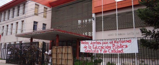 Para web Foto toma Liceo Domingo Ortiz de Rozas